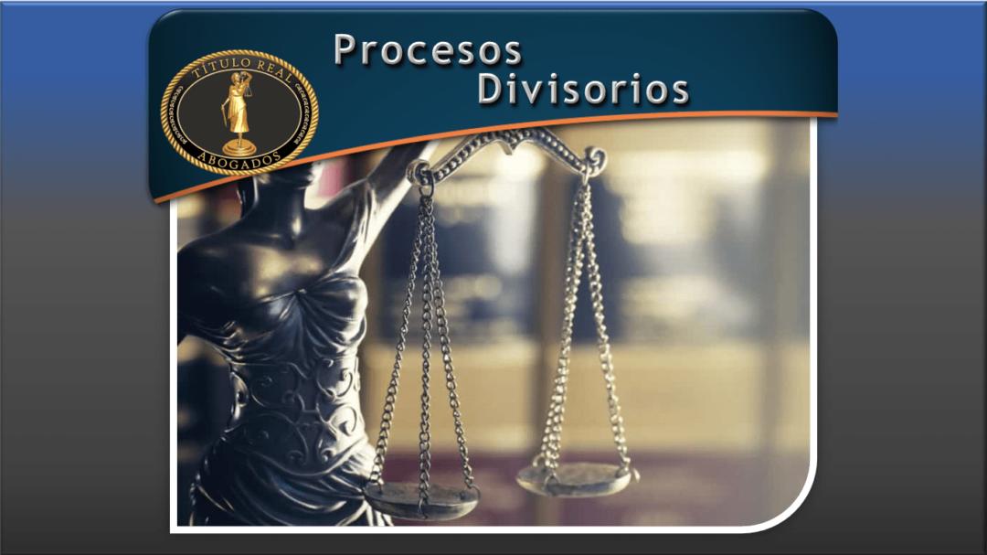 Procesos Divisorios
