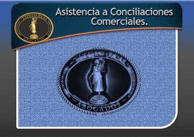 Asistencia a Conciliaciones Comerciales.