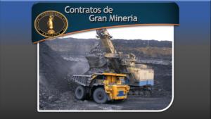 Contratos de Gran Minería