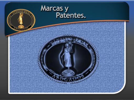 Marcas y Patentes.