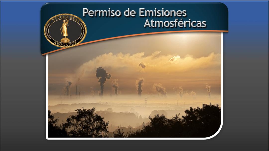 Permiso de Emisiones Atmosféricas