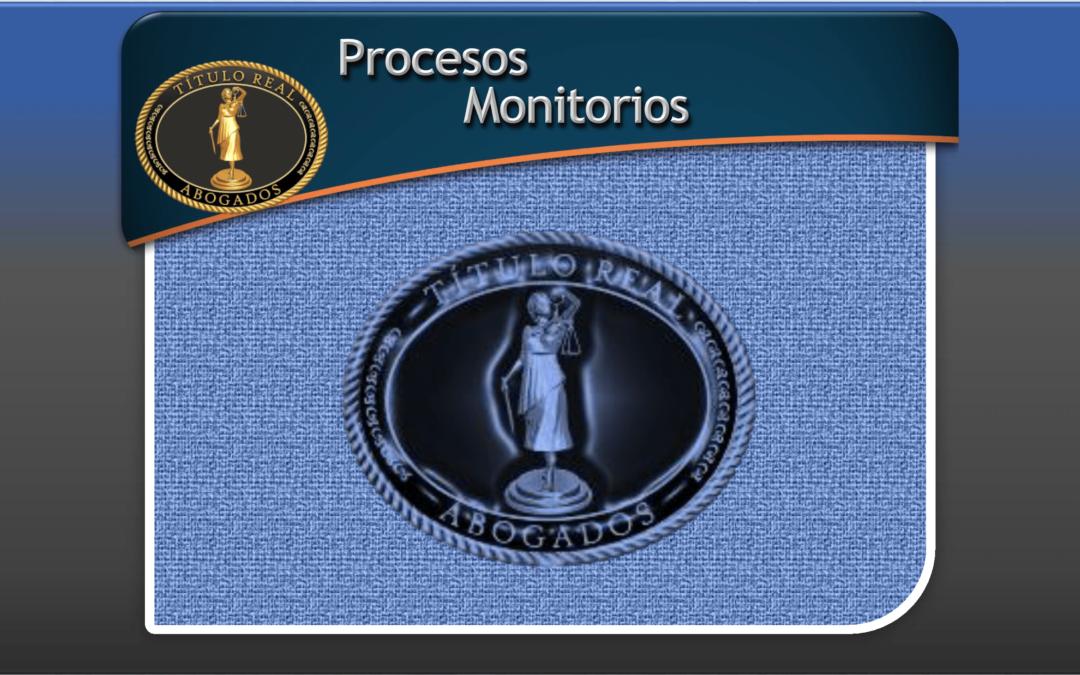 Procesos Monitorios