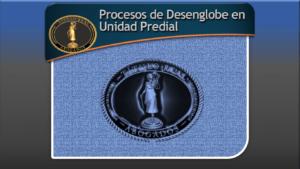 Procesos de Desenglobe en Unidad Predial